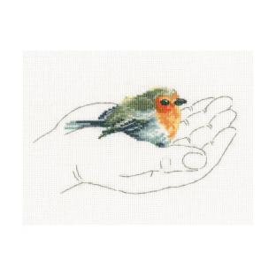 輸入刺しゅうキット RTO WARMTH IN PALMS(Little Birds)