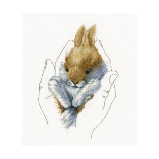 輸入刺しゅうキット RTO WARMTH IN PALMS(Little Rabbit)